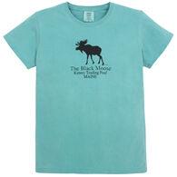 Original Design Women's Black Moose Kittery Trading Post Short-Sleeve T-Shirt