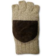 Kombi Men's Ragg Wool Flip Mitt