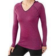SmartWool Women's NTS Micro 150 Pattern Long-Sleeve Baselayer Hoody Top