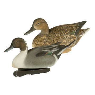 Primos Final Approach HD Floating Pintail Waterfowl Decoy Set
