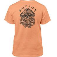 Salt Life Youth Captain Octo Short-Sleeve T-Shirt