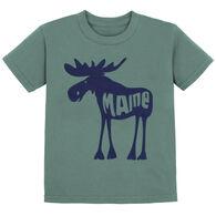 Lakeshirts Toddler Roddy Reego Moose Short-Sleeve T-Shirt