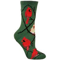 Wheel House Designs Cardinal Sock