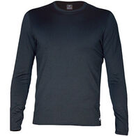 Hot Chillys Men's Micro-Elite Chamois Crew-Neck Baselayer Top