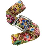 Tey-Art Women's Embroidered Belt