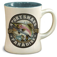 American Expedition Sportsman Rainbow Trout Diner Mug