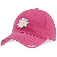 Life is Good Women's Daisy Tattered Chill Cap