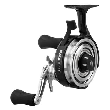 13 Fishing Black Betty FreeFall Ice Fishing Reel - Left Hand