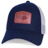 Fish Hippie Men's Flannel Trucker Hat