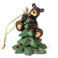 Big Sky Carvers Tree Topper Bear Ornament