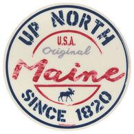 Blue 84 Komodo Moose Maine Sticker