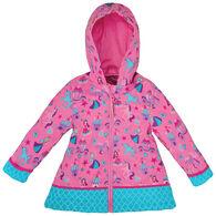Stephen Joseph Girl's Princess Rain Jacket