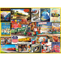 White Mountain Jigsaw Puzzle - Travel By Train