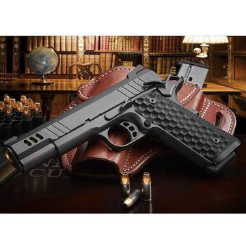 Nighthawk Custom President Gold Barrel 45 ACP 5 10-Round Pistol