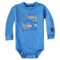 Carhartt Infant/Toddler Boys' Gone Fishing Long-Sleeve Bodyshirt