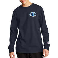 Champion Men's Heritage Floss Stitch Big C Long-Sleeve T-Shirt