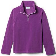 Columbia Girl's Glacial Fleece Quarter-Zip Long-Sleeve Pullover Top