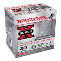"Winchester Super-X Xpert Steel 20 GA 2-3/4"" 3/4 oz. #7 Shotshell Ammo (25)"