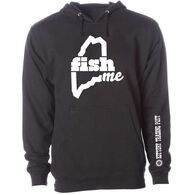 LiveME Men's & Women's Big & Tall FishME Kittery Trading Post Sweatshirt