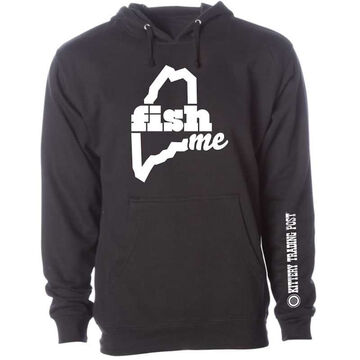LiveME Mens & Womens Big & Tall FishME Kittery Trading Post Sweatshirt