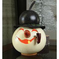 Meadowbrooke Gourds Walter Snowman Head Gourd
