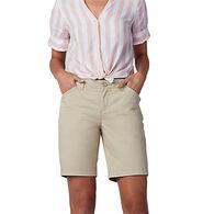 Lee Jeans Women's Regular Fit Chino Bermuda Short - Petite