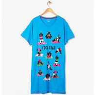 Hatley Women's Yoga Bear Sleepshirt