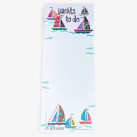 Hatley Little Blue House Yachts To Do Magnetic List Notepad