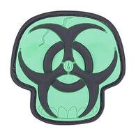 Maxpedition Biohazard Skull PVC Morale Patch