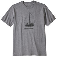 Patagonia Men's Live Simply Wind Powered Responsibli-Tee Short-Sleeve T-Shirt