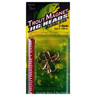 Leland's Lures Trout Magnet Barbless Jig Head - 5 Pk.