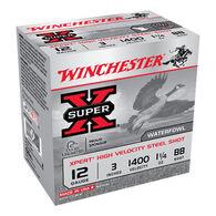 "Winchester Super-X Xpert Hi-Velocity Steel 12 GA 3"" 1-1/4 oz. BB Shotshell Ammo (25)"