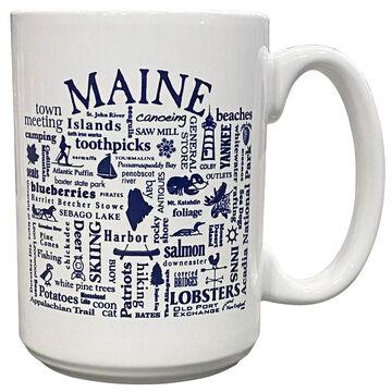 Where Life Takes You Maine Destination Mug