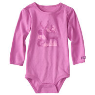 Carhartt Infant/Toddler Girls' Forest Friends Long-Sleeve Bodyshirt