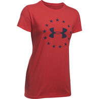 Under Armour Women's UA Freedom Logo Short-Sleeve T-Shirt