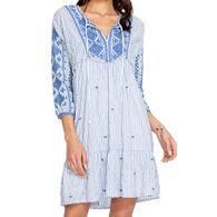Johnny Was Women's Azure Effortless Boho Dress