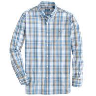 Fish Hippie Men's Windward Tattersall Long-Sleeve Shirt