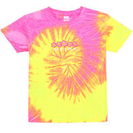 ESY Girls' Tie Dye Daisies Short-Sleeve T-Shirt