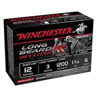 "Winchester Long Beard XR 12 GA 3"" 1-3/4 oz. #6 Shotshell Ammo (10)"
