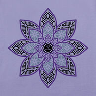 Life is Good Women's Primal Lotus Crusher Long-Sleeve T-Shirt