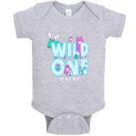 Lakeshirts Infant Wild One Bodysuit Onesie