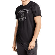 Life is Good Men's Positive State Active Short-Sleeve T-Shirt