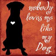 Thirstystone Dog Loves Me Coaster Single