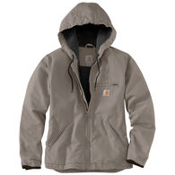Carhartt Women's Washed Duck Sherpa-Lined Jacket