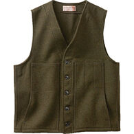 Filson Men's Mackinaw Extra Long Wool Vest