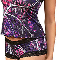 Wilderness Dreams Women's Muddy Girl Lace-Trimmed Boy Short Pantie