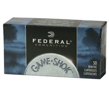 Federal Game-Shok 22 LR 38 Grain CPHP Rimfire Ammo (50)