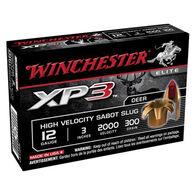 "Winchester XP3 12 GA 3"" 300 Grain Sabot Slug Ammo (5)"