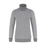 Tribal Women s Cotton Turtleneck Sweater 49066b3e2
