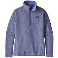 Patagonia Women's Better Sweater 1/4-Zip Fleece Top